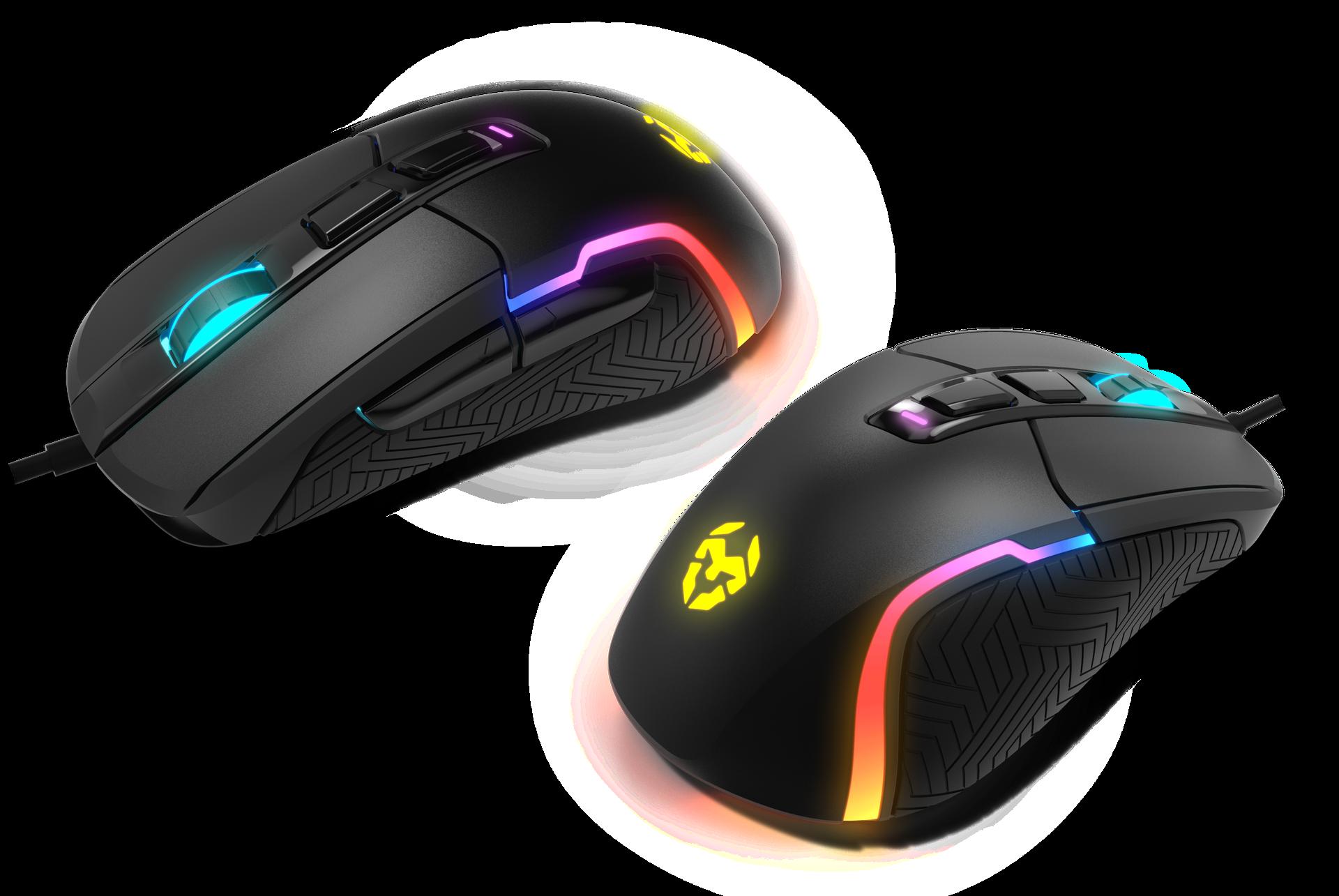 Krom amplía su gran catálogo con dos ratones gamers RGB:  Kick y Kalax